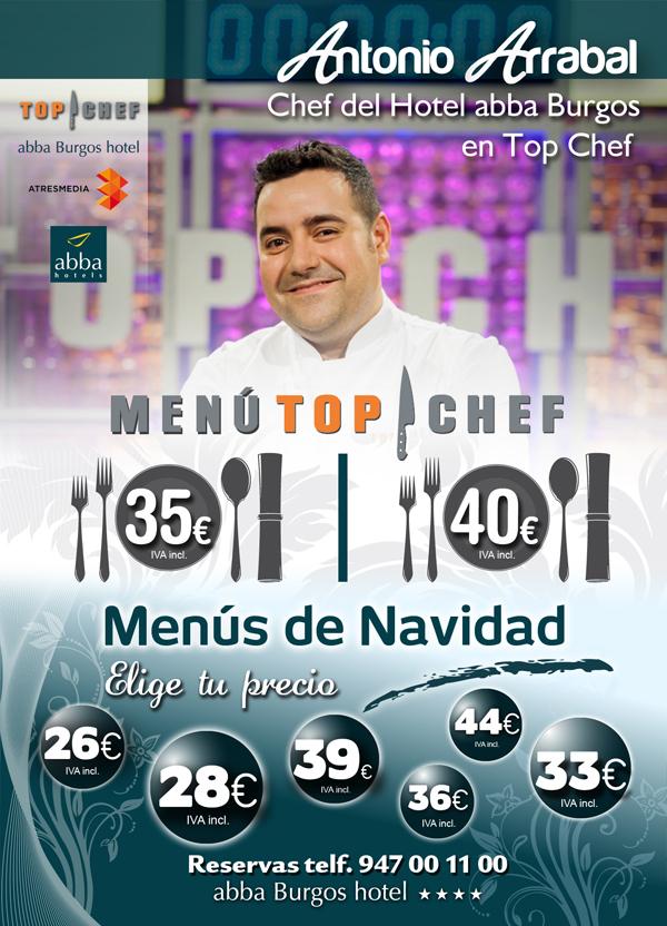 Menús de Navidad de Antonio Arrabal