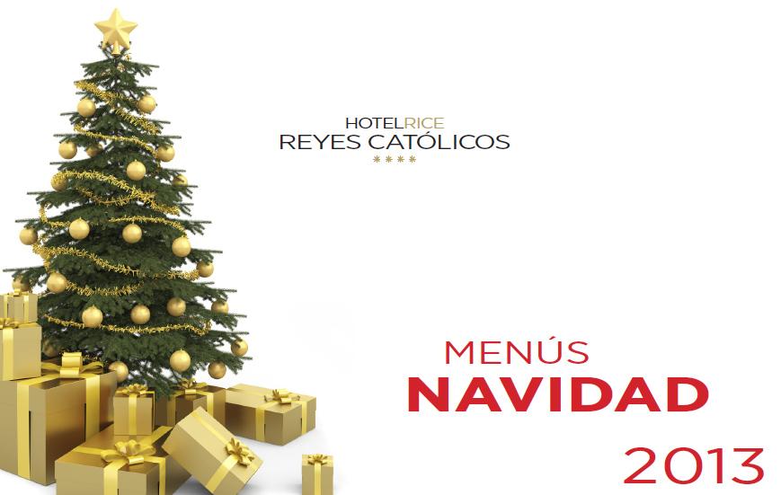 Menús Navidad H Reyes Católicos